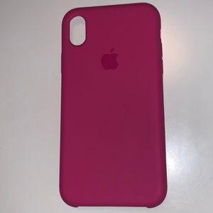 iPhone XR apple silicone case